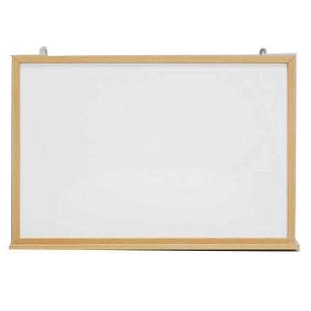 木目枠の雰囲気のあるホワイトボード