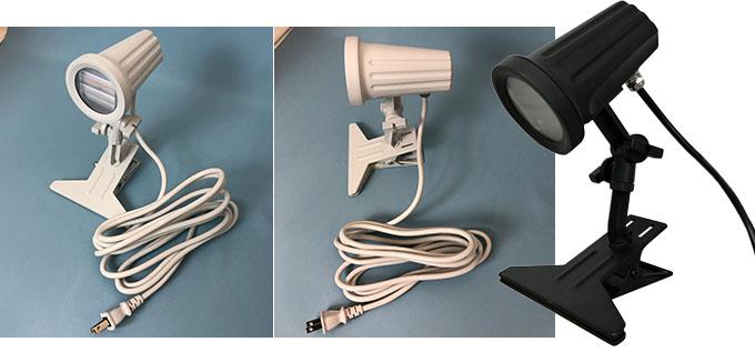 ビュークリップ VIEW CLIP ランプタイプの裏表詳細